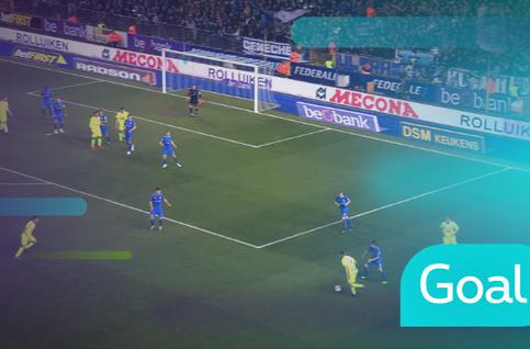 Goal: KRC Genk 2 - 1 KAA Gent: 87', Derijck