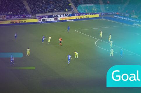 Goal: KRC Genk 2 - 0 KAA Gent: 45', Malinovsky