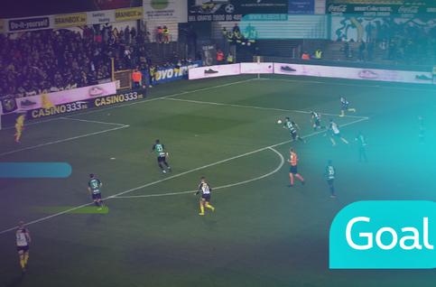 Goal: KSC Lokeren 3 - 0 Cercle Brugge: 39', Skulason
