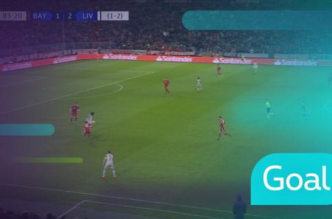 Goal: Bayern München 1 - 3 Liverpool : 84', Mané