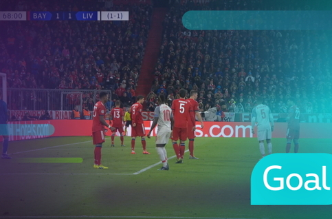 Goal: Bayern München 1 - 2 Liverpool : 69', Van Dijk