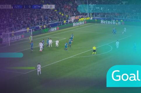 Goal: Juventus 2 - 0 Atlético Madrid 49' Ronaldo