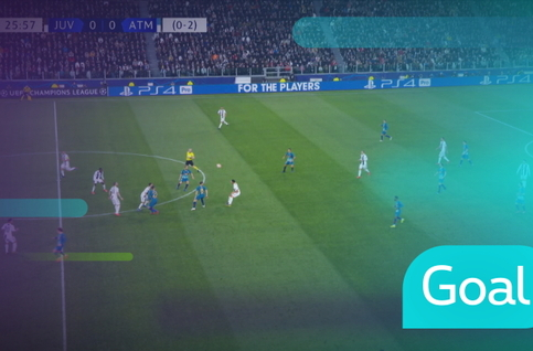 Goal: Juventus 1 - 0 Atlético Madrid 27' Ronaldo