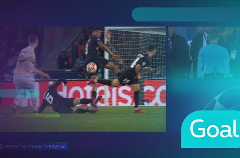 Penalty: Paris SG 1 - 3 Manchester United 90' Rashford