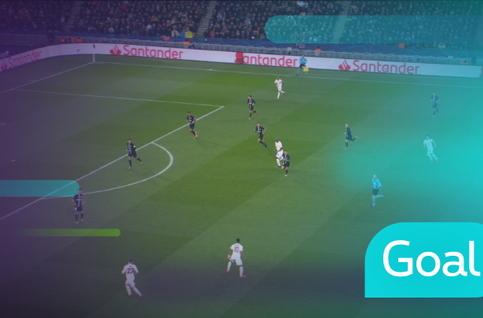 Goal: Paris SG 1 - 2 Manchester United 30' Lukaku