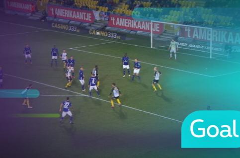 Goal: KSC Lokeren 1 - 2 RSC Anderlecht: 82', Cevallos