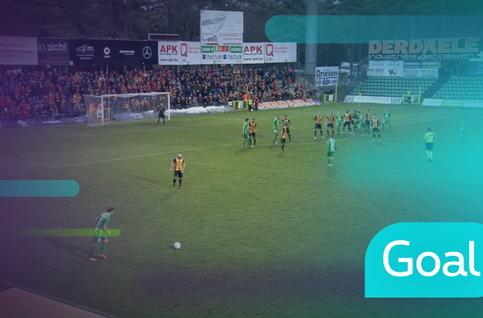 Goal: Lommel SK 1 - 1 KV Mechelen: 86', Rocha Miramar