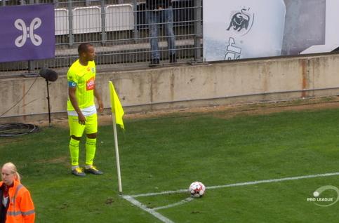 Goal: Sporting Charleroi 0 - 1 KAA Gent 56', Ngadeu