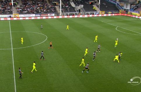 Goal: Charleroi 1 - 1 La Gantoise 89', Bruno