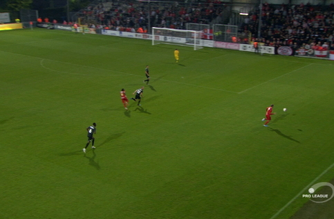 Goal: Eupen 1 - 3 Royal Antwerp 59', Rodrigues