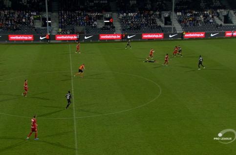 Goal: Eupen 1 - 4 Royal Antwerp 81', Refaelov