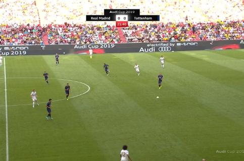 Goal: Real Madrid 0 - 1 Tottenham 22', Kane