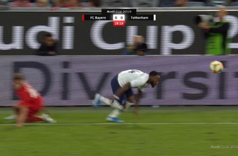 Goal: Bayern Munich 0 - 1 Tottenham 19', Lamela