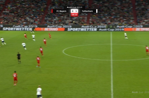 Goal: Bayern Munich 0 - 2 Tottenham 59', Eriksen