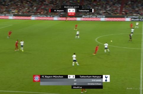 Goal: Bayern Munich 1 - 2 Tottenham 61', Arp