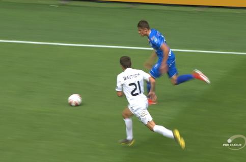 Goal: La Gantoise 6 - 1 Eupen 90', David