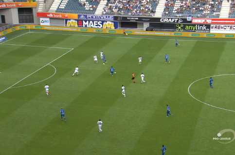 Goal: La Gantoise 5 - 1 Eupen 90', Bezus
