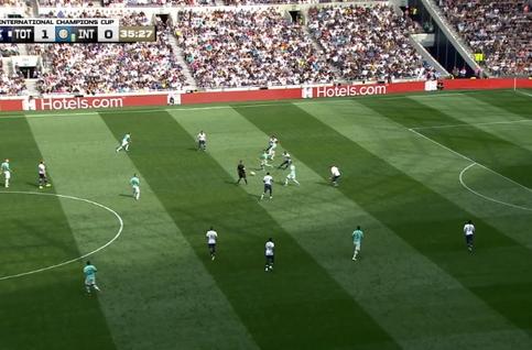 Goal: Tottenham 1 - 1 Inter Milan 36', Sensi