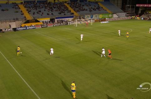 Goal: Westerlo 1 - 0 OH Louvain 60' Abrahams