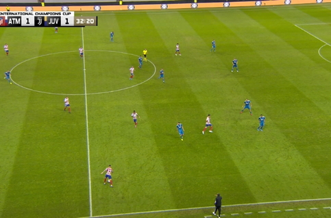 Goal: Atlético Madrid 2 - 1 Juventus Turin 33', Joao Felix