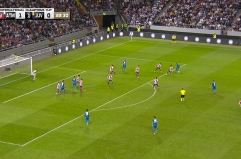 Goal: Atlético Madrid 1 - 1 Juventus Turin 29', Khedira