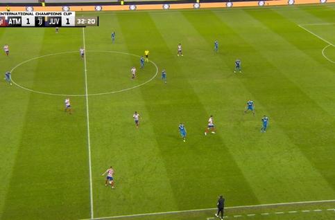 Goal: Atlético Madrid 2 - 1 Juventus 33', Joao Felix