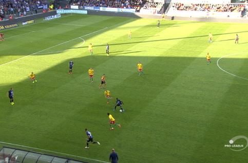 Goal: Ostende 0 - 2 FC Bruges 83', Tau
