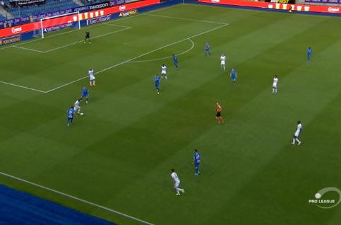 Goal: KRC Genk 0 - 1 SV Zulte Waregem 6', Bjordal