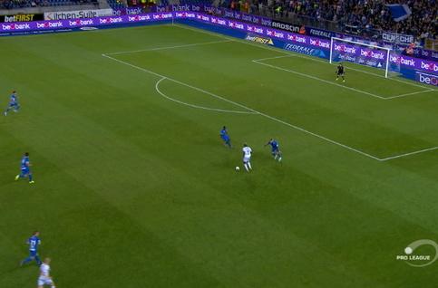 Goal: KRC Genk 0 - 2 SV Zulte Waregem 78', Berahino