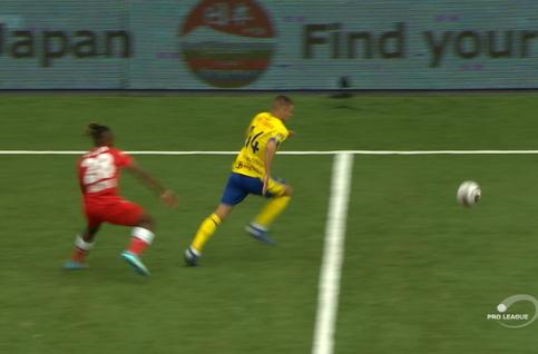 Goal: STVV 1 - 0 Standard 29', De Bruyn