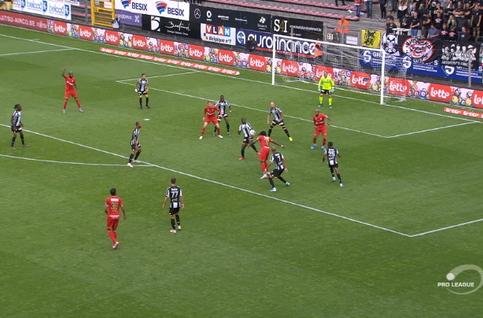 Goal: Sporting Charleroi 1 - 1 Royal Antwerp 77', Refaelov