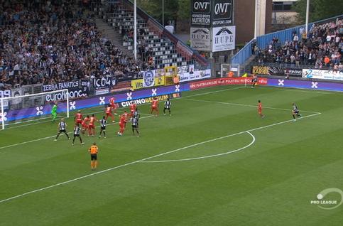 Goal: Charleroi 2 - 1 Royal Antwerp 90', Perbet