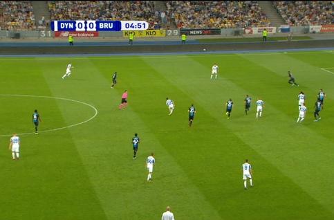 Goal: Dynamo Kiev 1 - 0 FC Bruges 5'  Buyalsky