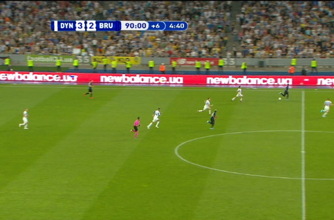 Goal: Dynamo Kiev 3 - 3 FC Bruges 95' Openda