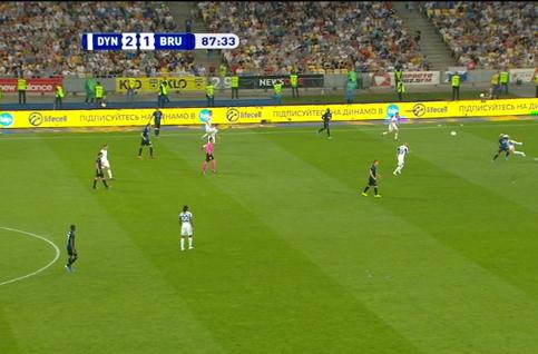 Goal: Dynamo Kiev 2 - 2 FC Bruges 88' Vormer