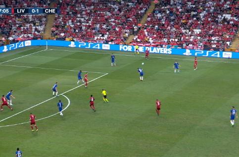 Goal: Liverpool 1 - 1 Chelsea 48' Mané
