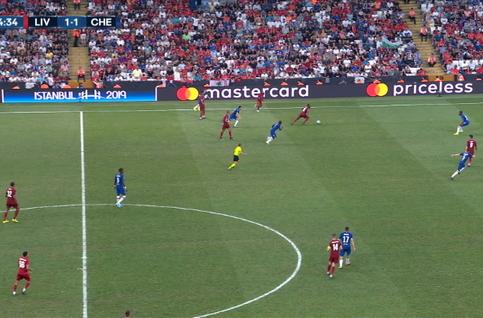 Goal: Liverpool 2 - 1 Chelsea 95' Mané