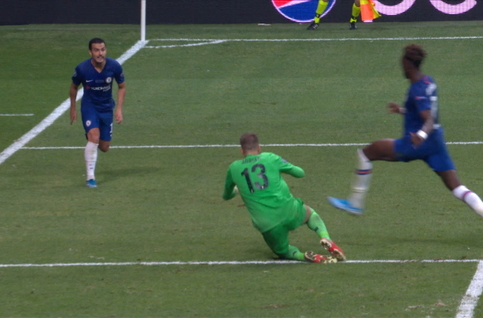 Penalty: Liverpool 2 - 2 Chelsea 100' Jorginho