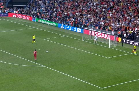 Winning penalty Liverpool - Chelsea