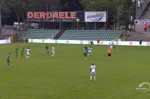 Goal: Lommel SK 0 - 1 RE Virton 45', Jordanov