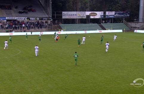 Goal: Lommel SK 0 - 3 RE Virton 87', Turpel