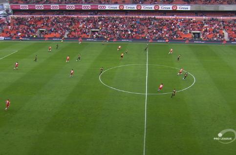 Goal: Standard 3 - 0 Moeskroen 46', Amallah