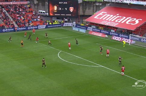 Goal: Standard 4 - 1 Moeskroen 88', Emond