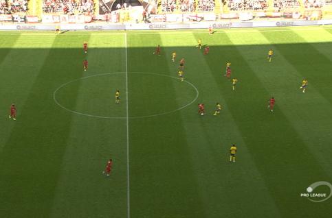 Goal: Royal Antwerp 1 - 0 Saint-Trond 10', Refaelov
