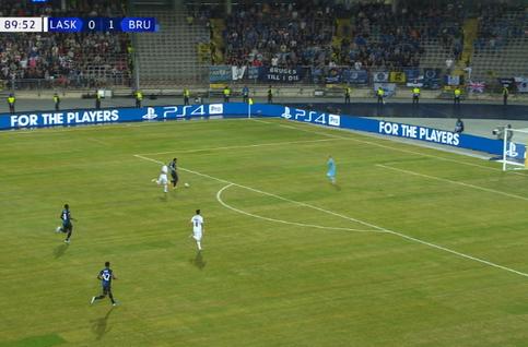Linz ASK - Club Brugge : Miss Rezaei