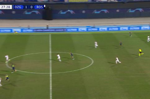 Goal: Dinamo Zagreb 2 - 0 Rosenborg 28', Orsic