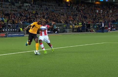 Penalty: Young Boys 2 - 2 Crvena Zvezda 76' Hoarau