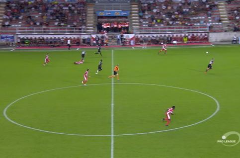 Goal: Mouscron 2 - 0 Eupen 90', Osabutey