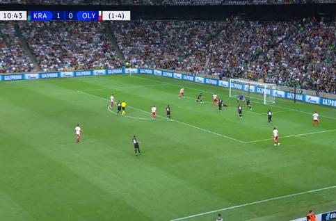 Goal: Krasnodar 1 - 1 Olympiakos Piraeus 11' El-Arabi