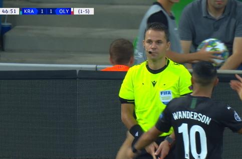 Goal: Krasnodar 1 - 2 Olympiakos Piraeus 48' El-Arabi